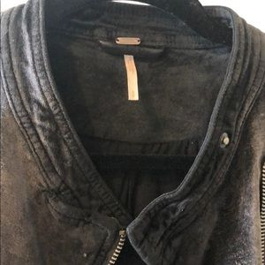 Free People Jackets & Coats - Velour black jacket from Free People